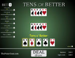 three play tens or better